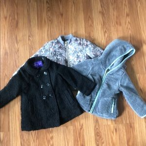 3 coat bundle! 24 months and 2T girls!